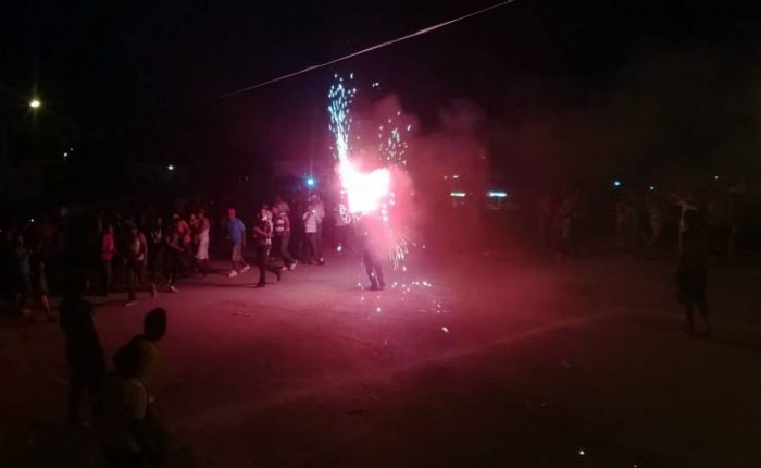 Quema del Torito, La Partida, Coahuila. Imagen cortesía de Juan Manuel Rodríguez Mendoza
